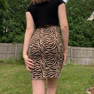 Animal print skirt 🤎